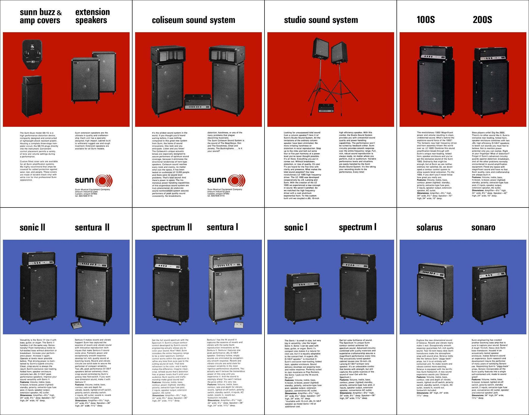 Sunn Amp line (With images) Wall of sound, Sound system, Amp