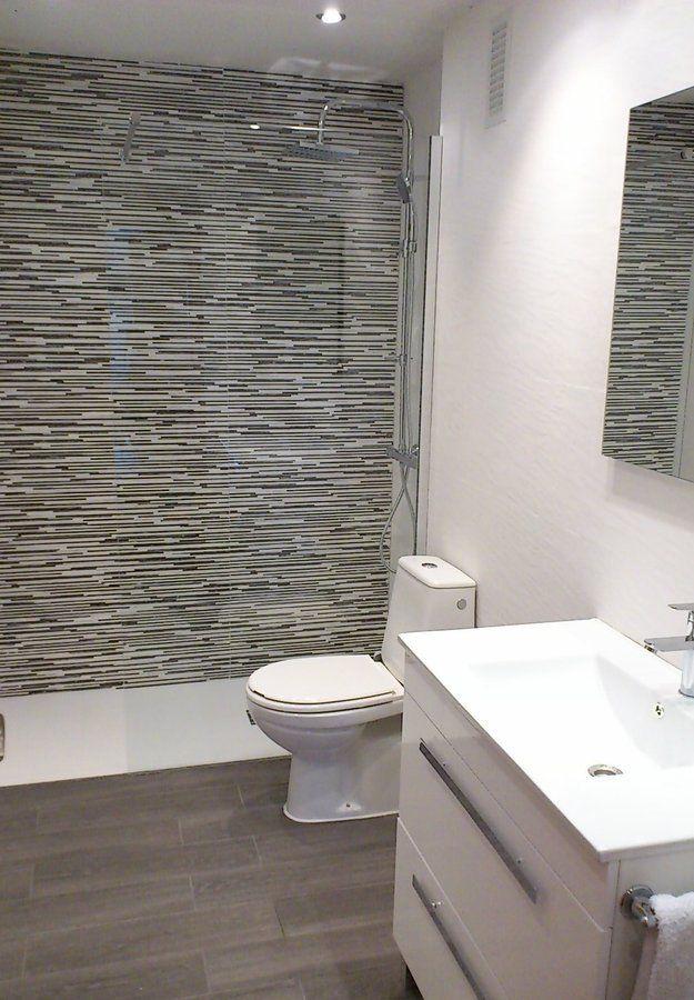 Ba o azulejo onda buscar con google ba os ba os ba os peque os y duchas - Azulejos pequenos para banos ...