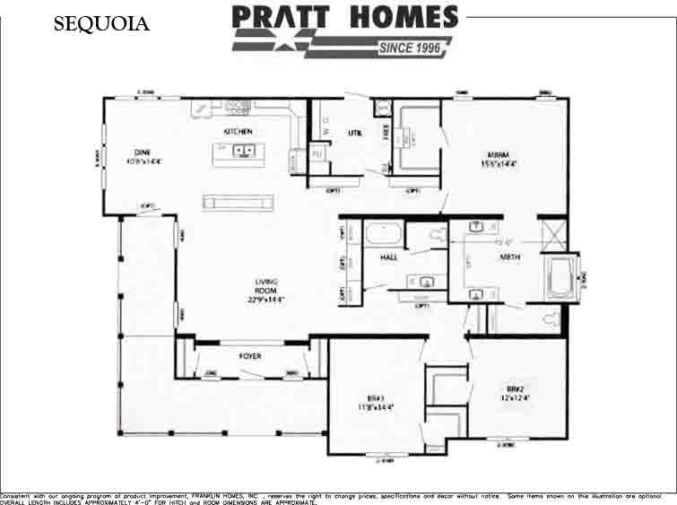 Sequoia Floor Plan Pratt Homes Modular Home Plans Modular Home Floor Plans Modular Homes
