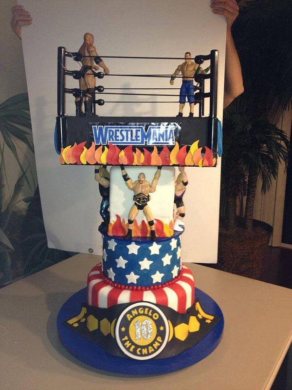 Wwf Birthday Birthday Cakes Pinterest Birthday Cakes
