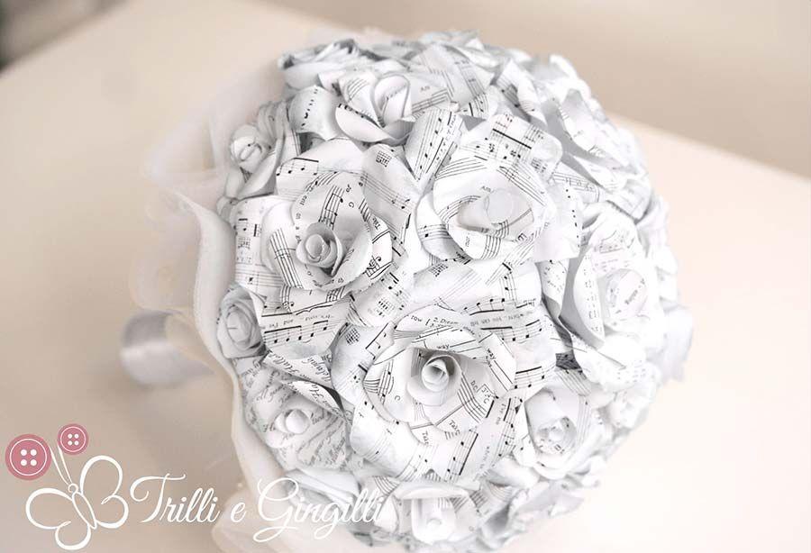 Bouquet Sposa Di Carta.Bouquet Con Fiori Di Carta Ecco I Piu Belli E Originali
