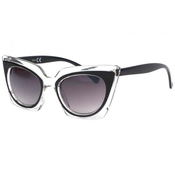 fc80a8351f2313 Lunettes de soleil papillon noires Fauve fashion, chic et vintage pour femme  fashion  lunettesdesoleil
