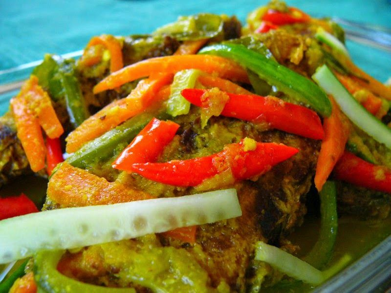 Resep Ikan Bumbu Acar Aka Pesmol Pork Loin Recipes Delicious Healthy Recipes Food