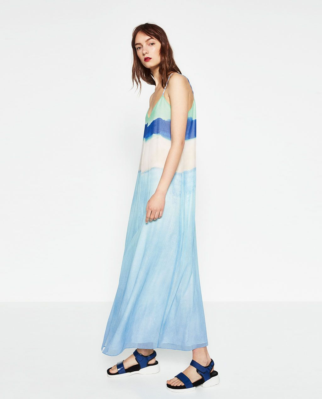 Zara vestidos largos xxl
