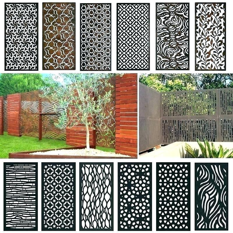 metal outdoor screen panels buethe