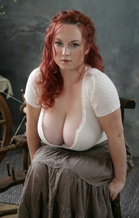 Average Looking Bbw With Huge Natural Tits Showing Cleavage