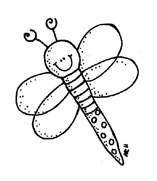 Bugs Melonheadzillustrating Insect Coloring Pages Bee Clipart Coloring Pages