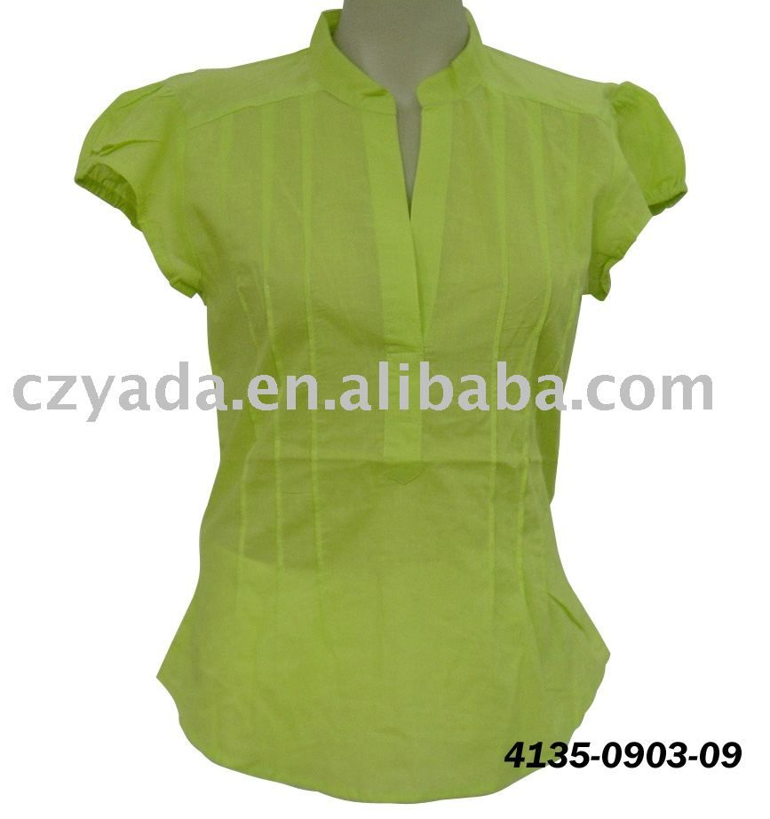 c873934398d2d7 types of women's tops and blouses collars | Neck Design of Blouse ladies top