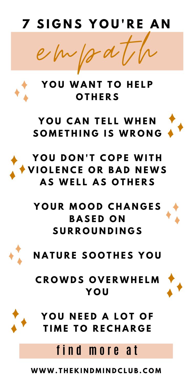 Empath: Signs & Boundaries