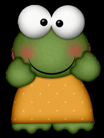 Crazy Froggies Animais Figuras Sapo