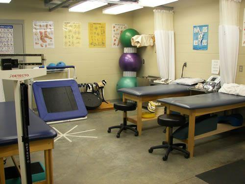 athletic training room