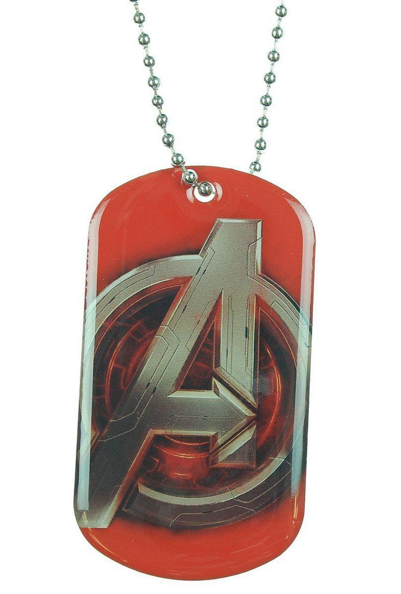 Avengers: Age Of Ultron Logo Dog Tag Necklace