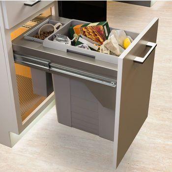 Waste Bins Hafele Pull Out Us Cargo, Kitchen Cupboard Waste Bin