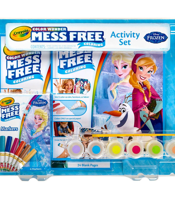 Crayola Color Wonder Activity Set - Frozen - Kids & Teachers ...