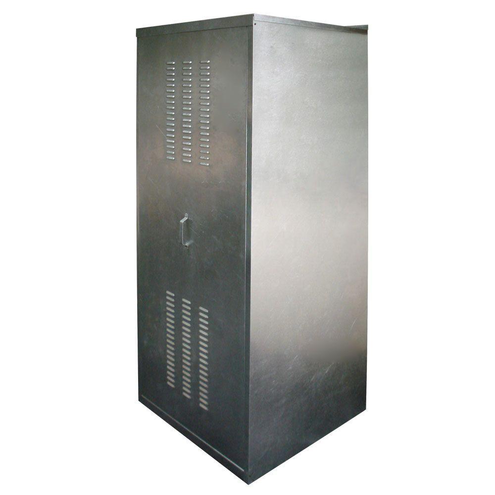 Holdrite 24 In Galvanized Steel Water Heater Enclosure Qs E24 Water Heater Water Heater Closet Galvanized Steel
