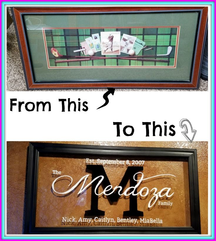 Personalized Family Name Sign | Creative Recycles | Pinterest ...