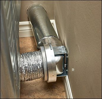 Magvent Dryer Duct Couplings Lee Valley Tools Laundry