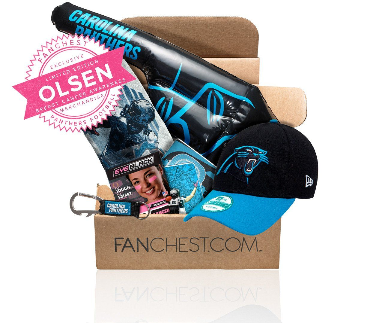 Carolina Panthers FANCHEST 3 - Mens - S  4c8d79068