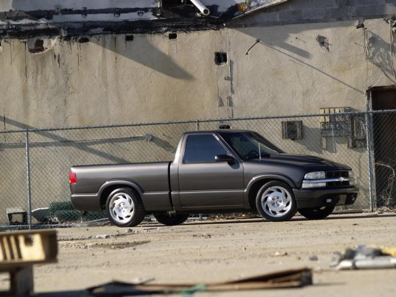 Corvette Rims On S10 Chevy S10 Corvette Rims S10 Truck