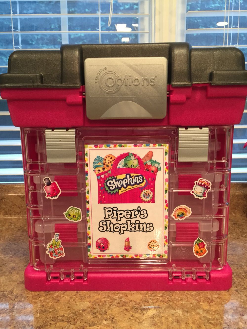 Shopkins Storage Jorja