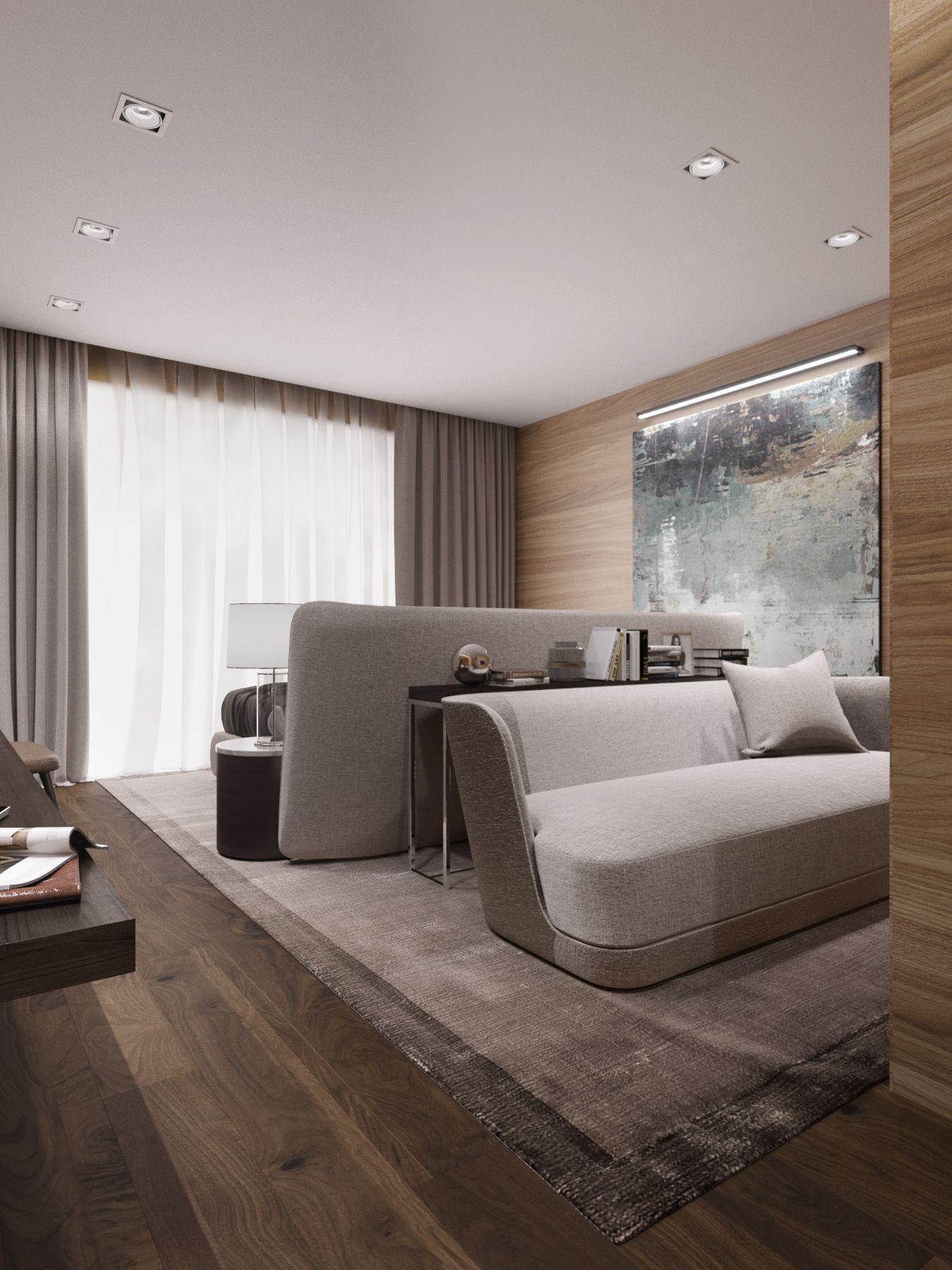 3D rendering of hotel rooms 3D rendering