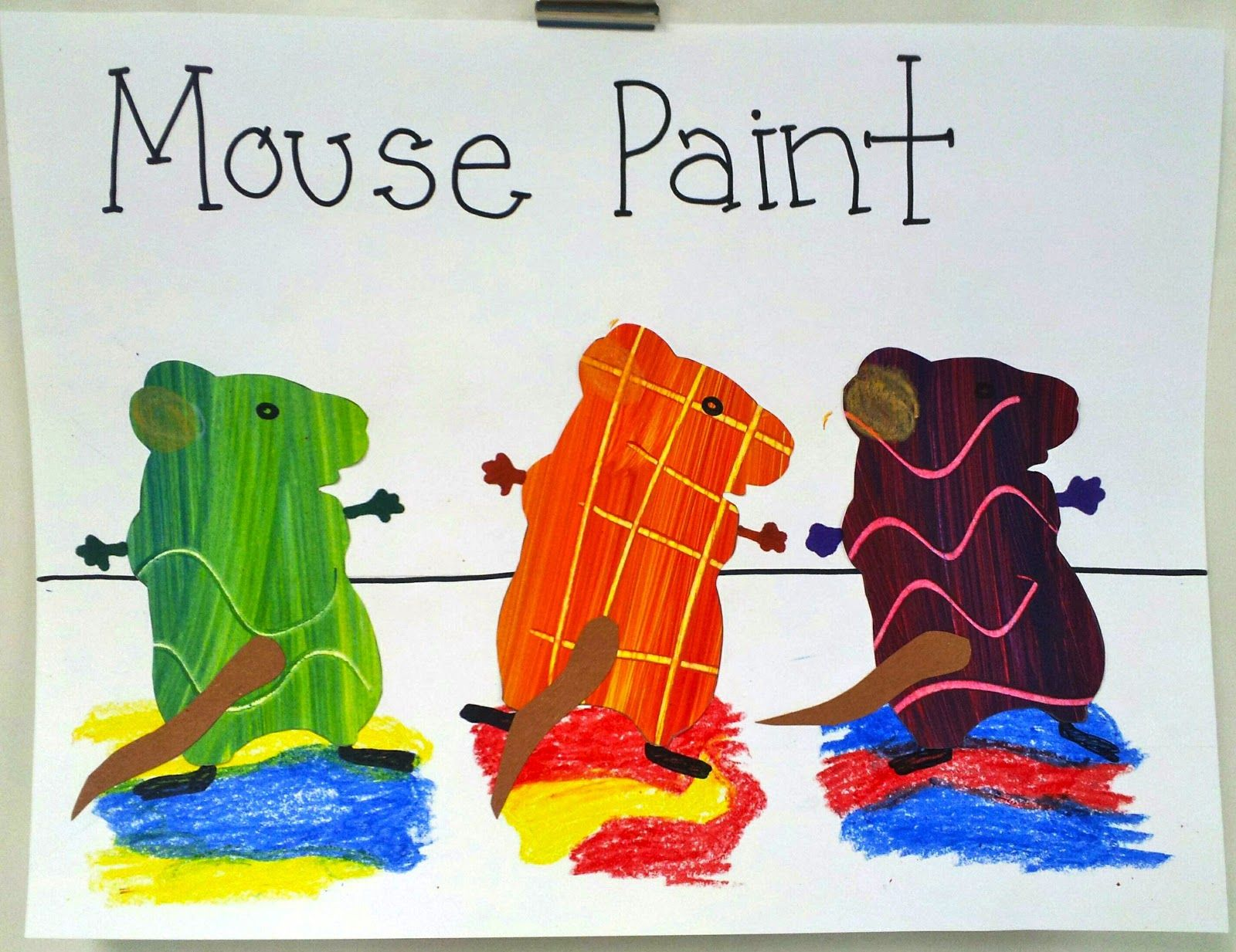 Art With Ms Gram Kindergarten Mouse Paint Primary