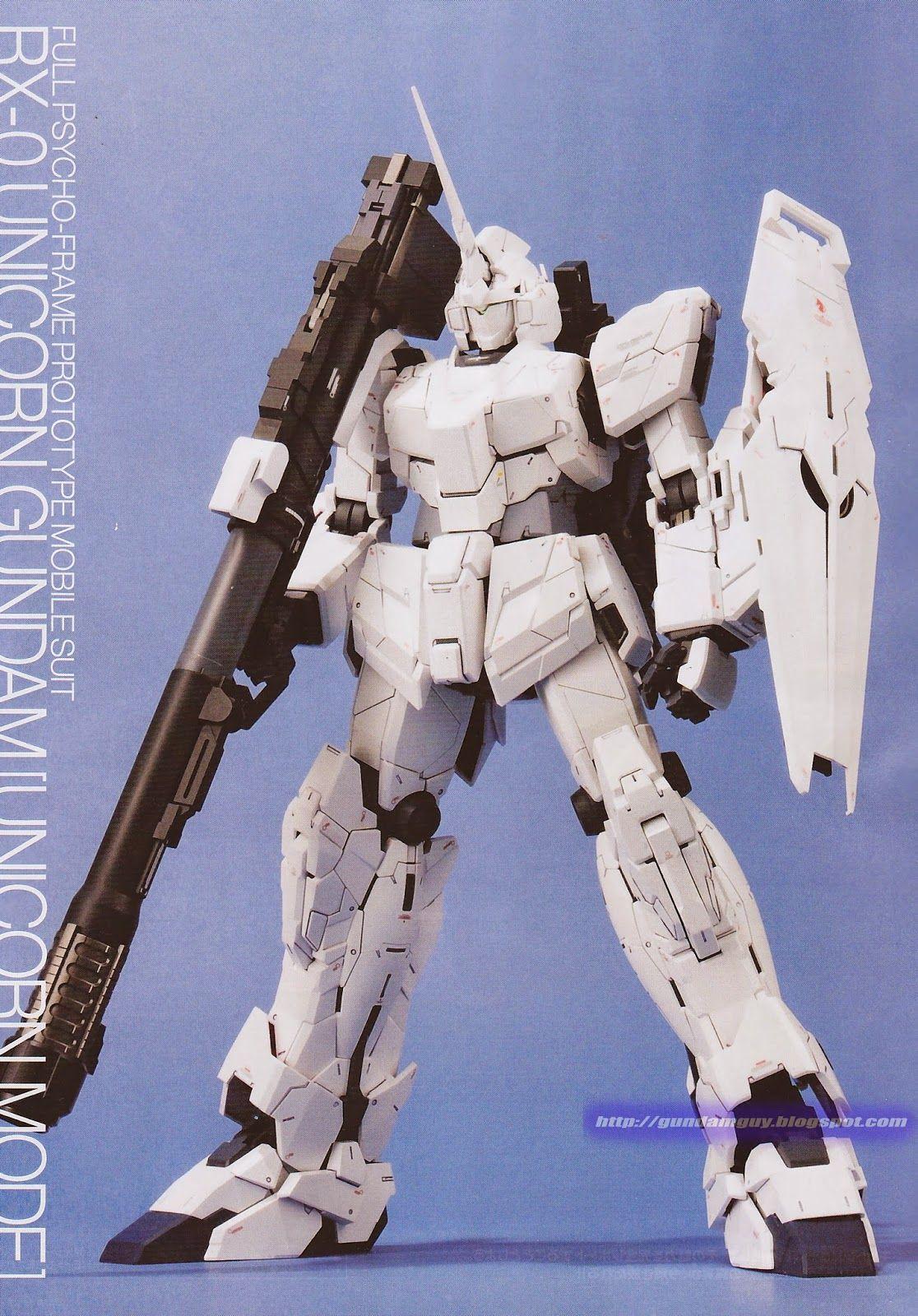 GUNDAM GUY: PG 1/60 RX-0 Unicorn Gundam - New Images, Videos