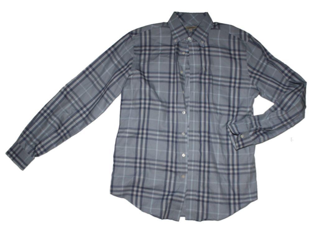 0e88fa68 Details about Men's Long Sleeve Plaid Shirt 100% pure cotton Male ...