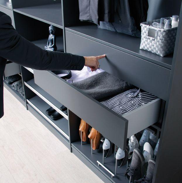 schoenen opbergsysteem | Inloopkast in 2019 - Furniture ...