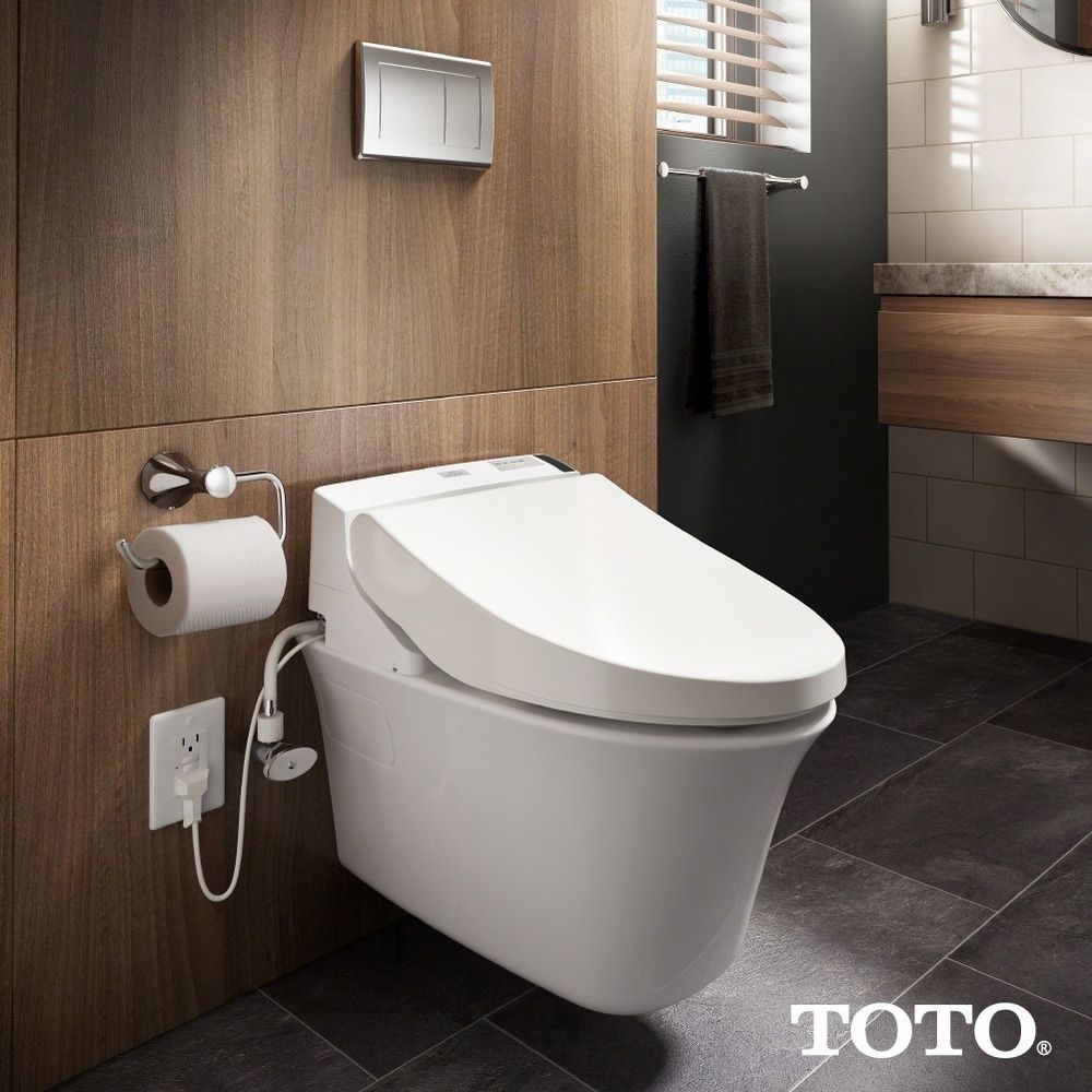 Toto Washlet S350e Elongated Bidet Toilet Seat Review With Images