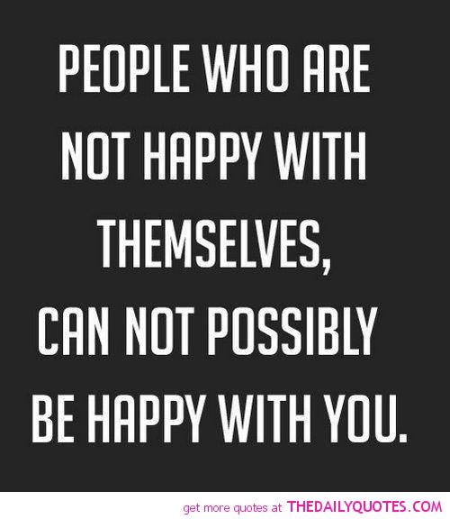 People Who Are Not Happy…………