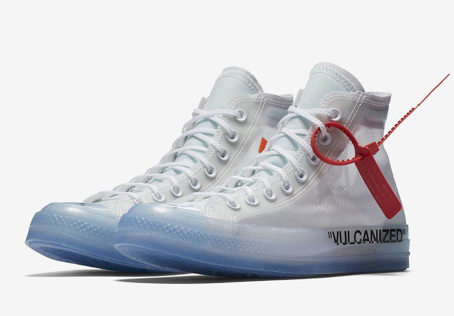 White Canvas Sneaker Translucent Upper