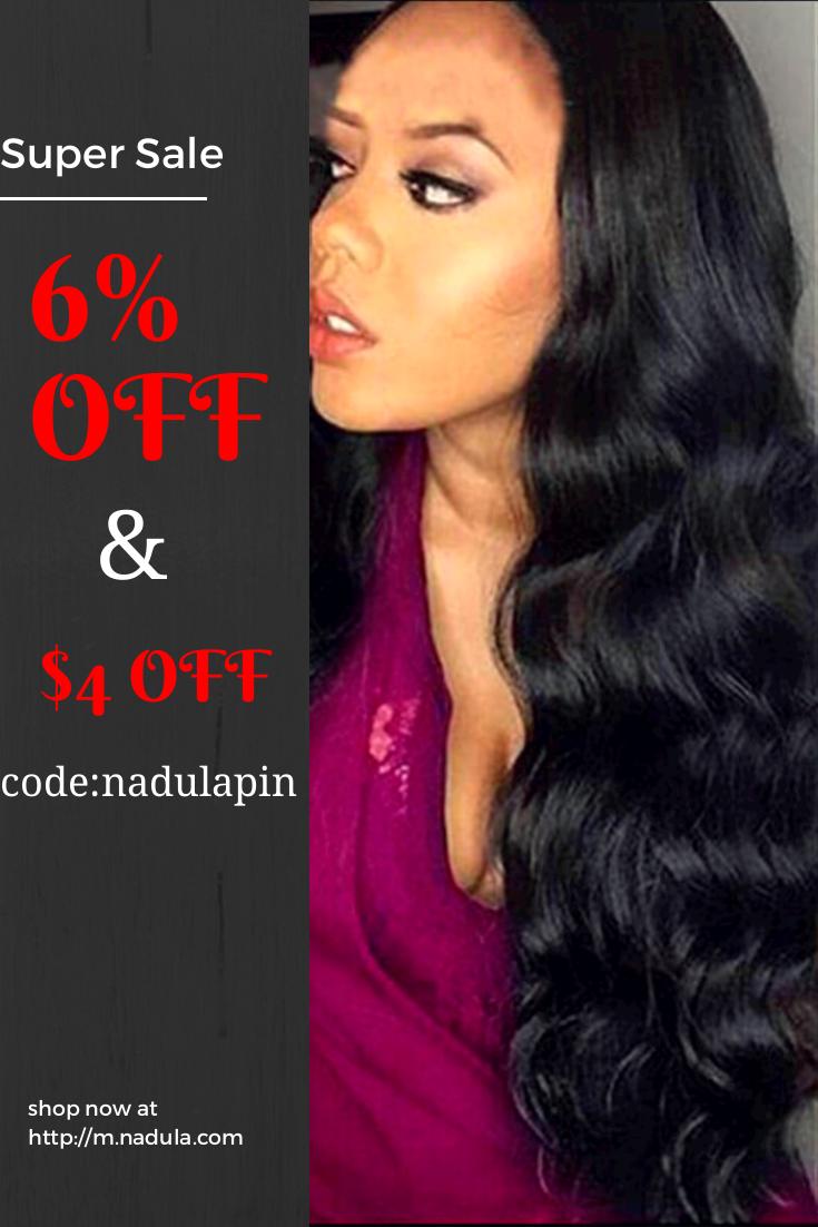 Nadula Soft Brazilian Virgin Hair Super Sale Body Wave 4 Bundles