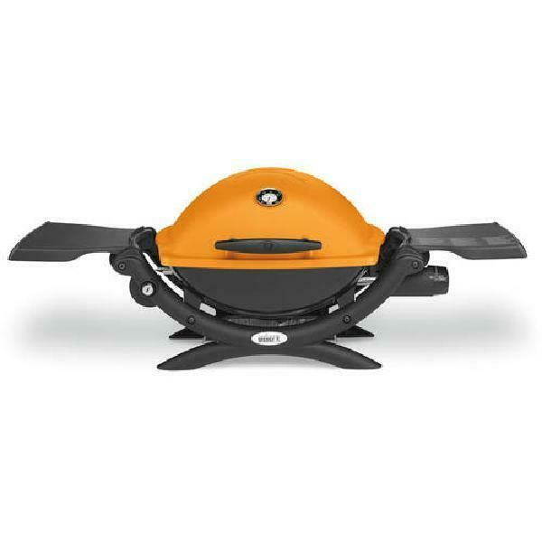 Weber Q1200 Portable Tabletop Propane Gas Bbq Grill Quick Outdoor
