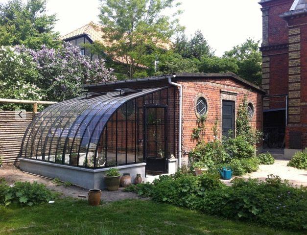 Serre adoss e contre abri de jardin abri de jardin - Abris de jardin adosse ...