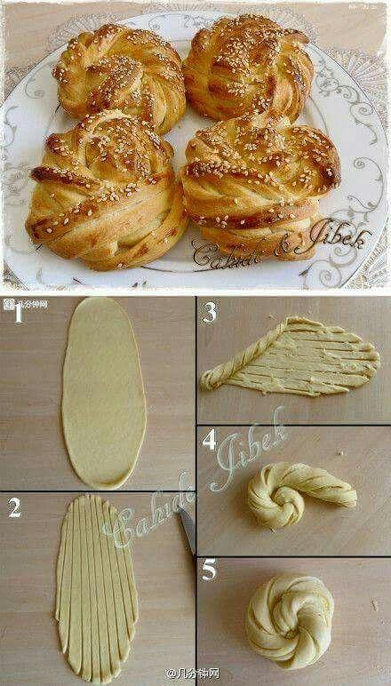 اشكال الفطائر Food Bread Recipes