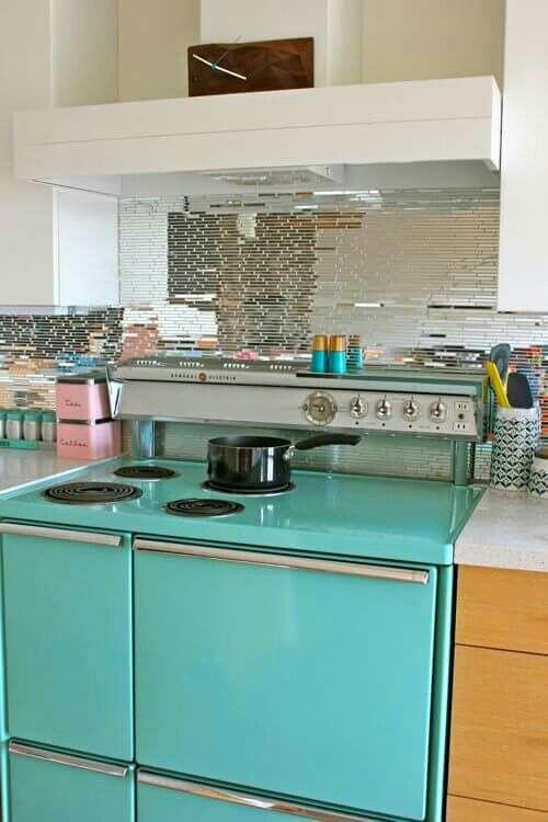 Épinglé Par Debbie Rend Sur Gimme Some Oven Pinterest - Cuisinieres electriques pour idees de deco de cuisine