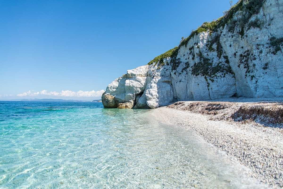 La spiaggia di Capo Bianco Isola d'Elba Isola d'elba