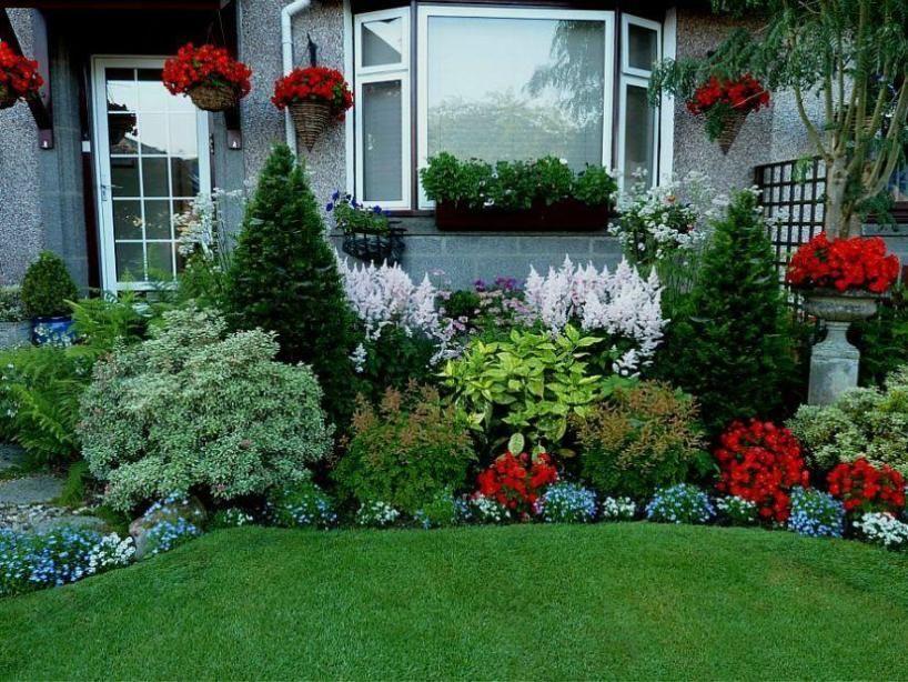 Genial Wonderful Bushes Decoration For Small Backyard Flower Garden