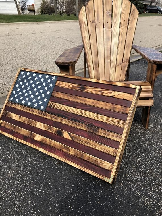 LARGE (19x36), Rustic Flag, Wood American Flag, Pallet American Flag, Wood Flag, Wooden Flag, Wood Sign, Wood Art, Wood Working