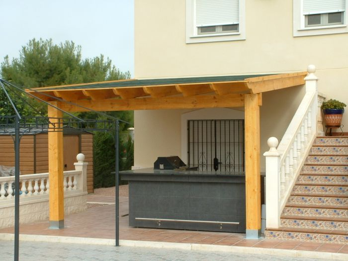 Lean To Deck Roof Google Search Porches Pergola With