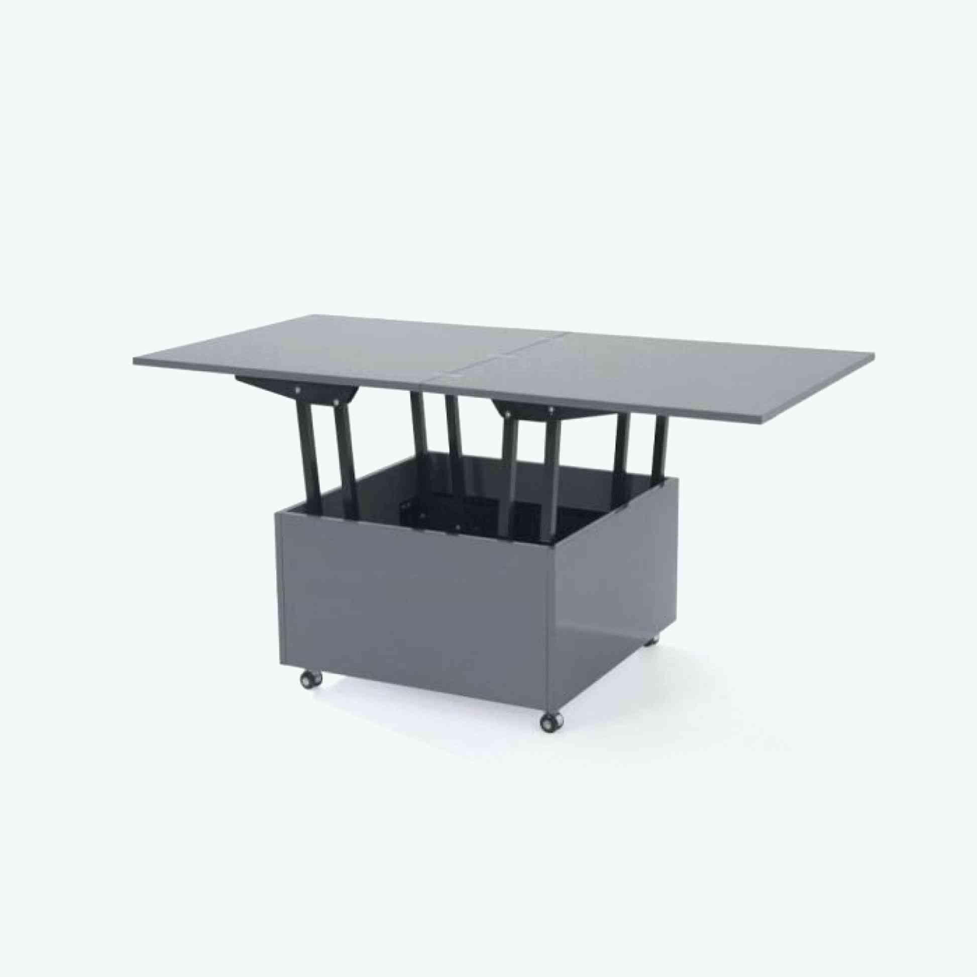 Elegant Cuisine Noir Mat Ikea  Clear coffee table, Coffee table