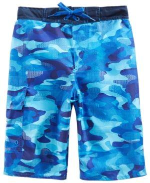 3ae82ad632 Trunks Laguna Big Boys Digital Camo-Print Swim | Products | Swim ...