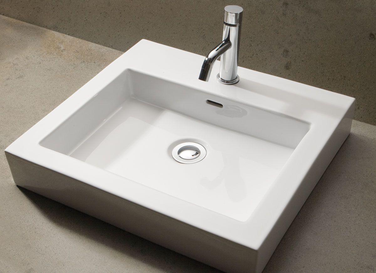 Bathroom Sinks Reece kado lux above counter basin - characterisedlines as natural