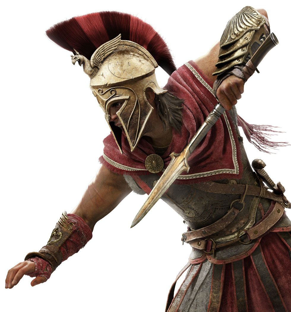 Alexios In Battle From Assassin S Creed Odyssey Illustration Artwork Gaming Videogames Charact Assassins Creed Assassins Creed Art Assassins Creed Artwork