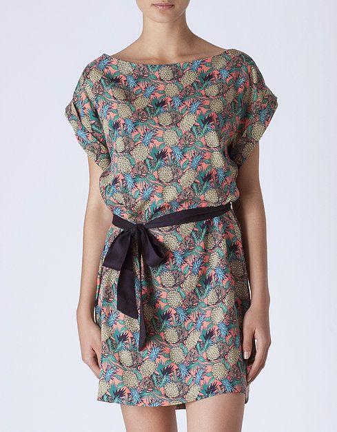 b725663f6c37 Vestido estampado piñas | NUEVO! | SHOP ONLINE SUITEBLANCO.COM | to ...