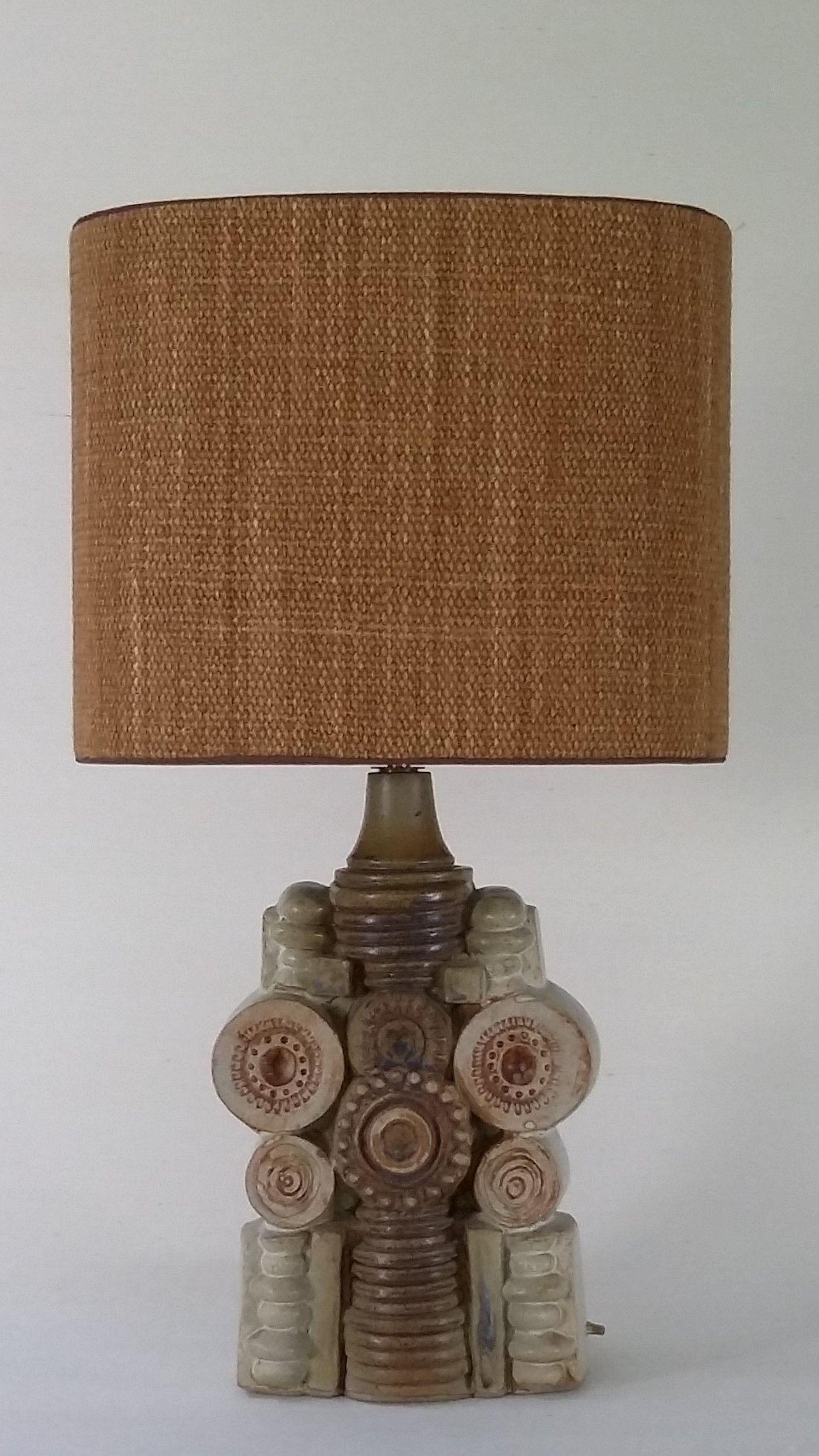 Vintage table lamp bernard rooke uk 1968 art pottery uk vintage table lamp bernard rooke uk 1968 aloadofball Image collections