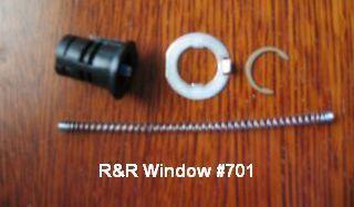 701 W F Single Handle Bushing Kit Door Handles Window Parts Handle