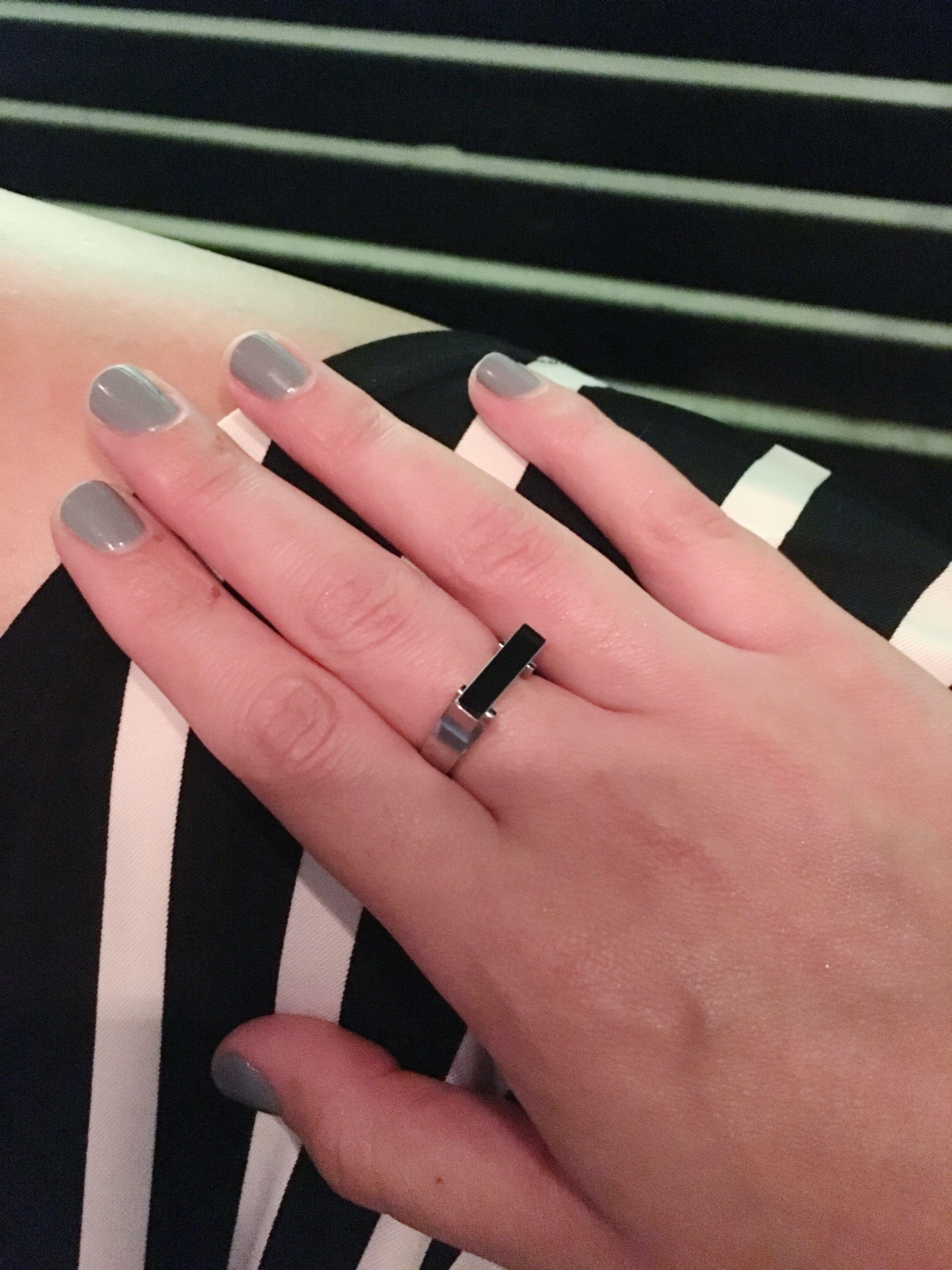 Flat bar ring | Rings | Pinterest | Ring
