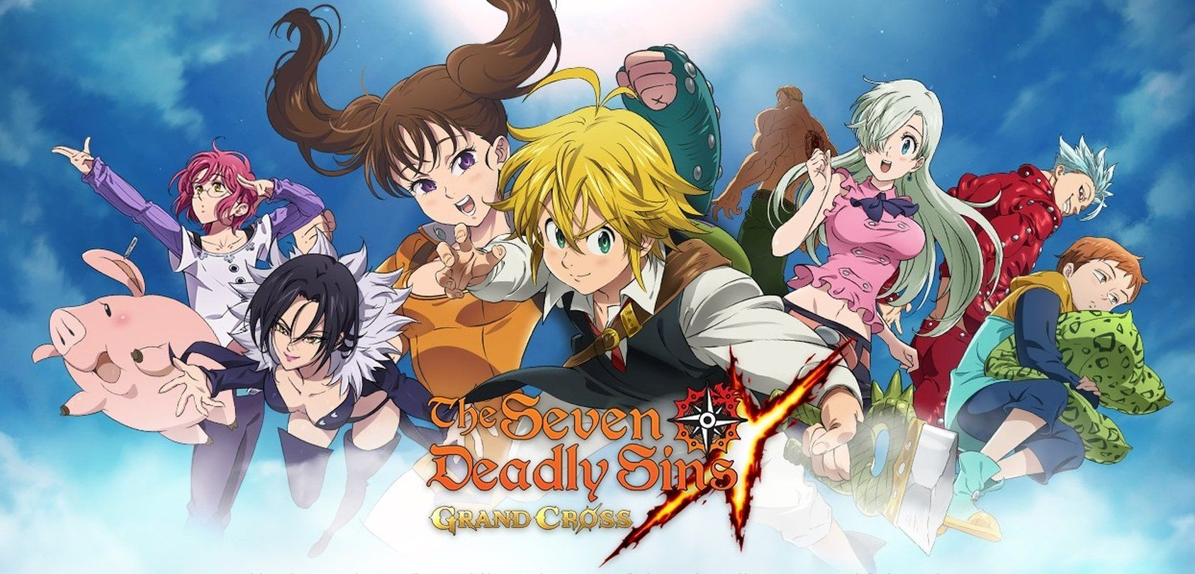 Pre Registration Opens For The Seven Deadly Sins Grand Cross In North America Applestore Googleplay Mobile Netmarbl Grand Cross Seven Deadly Sins Anime